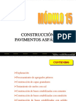 Construcción de Pavimentos Asfálticos