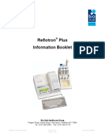 Reflotron Plus Information Booklet
