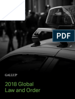 Gallup Global Law and Order Report 2018