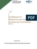 Guia de Utilização Do WebService - Consulta de Dados Dos Contribuintes (1)
