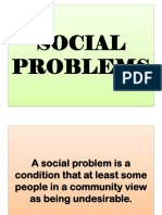 Social Problems Powerpoint