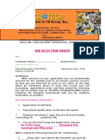 Macro Job Selection Order