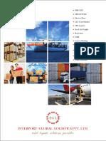 logistics company Brochure