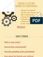 Gayo Tribes