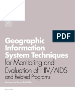 M&E Techniques for HIV-AIDS Using GIS