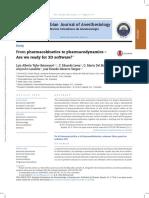 From Pharmacokinetics to Pharmacodynamics Are We.9