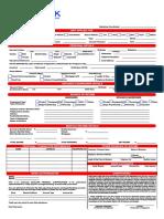Loan Applicationform