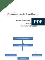 Corrosion Control Methods