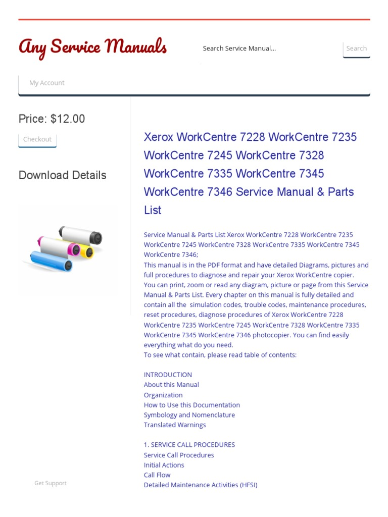 7345 rh scribd com Xerox WorkCentre 7535 Xerox WorkCentre 4250
