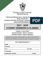 CCHS_2017-18 Handbook