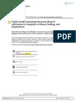 Estudio Piloto Evalua Prescripcio Ceftriaxo 2017