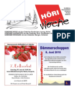Höriwoche KW23