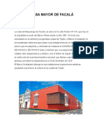 Casa de Facala y Urquiaga