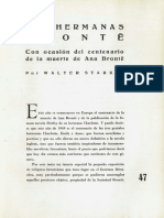En Ocasión de La Muerte de Emily Bronte
