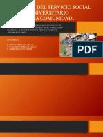Ejecución Del Servicio Social Universitario