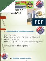 Diseño de Mezcla de 140 Kgm3
