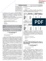 Aprueban Indice de Precios Al Por Mayor a Nivel Nacional Cor Resolucion Jefatural No 166 2018 Inei 1654762 2