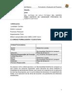 Perfil de Proyecto CUTIMBO