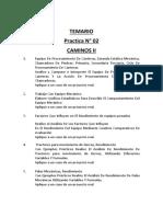 Practica 02 Caminos II