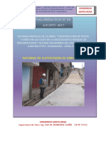 Informe Mensual AGOSTO 2017 Azpur