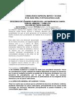 Reporte del INSIVUMEH, Guatemala 06/06/2018