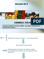 9.Edible Film