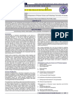 A Review on the Use and Application of Nanotechnology in the field of Dental Implants