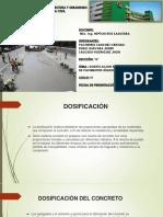 Dosificacion de Pavimentos Rigidos Grupo 9