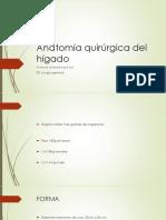 Anatomia Quirúrgica Del Hígado