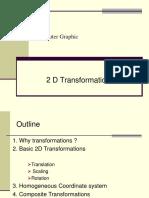 2 d Transformation