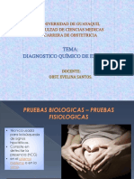 Diagnostico Quimico Del Embarazo