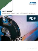 PowerPress_Prensas de Banda Para Tratamiento de Lodos
