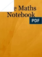 The Maths Notebook