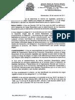 Res-DGSA-n35!26!10-11 Especies Que No Requieren Registro Sanitario Para Entrar a Uruguay
