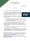 U.S. Chamber of Commerce DACA Letter