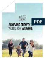 Achieving Growth that Works for Everyone