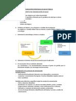 Plan de Comunicación Salud Pública