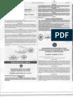 DCS 20160302 Acuerdo Número 05-2015 CONRED Aclaración Ordenamiento Territorial Licencias Municipalidades