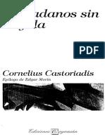 Ciudadanos Sin Brujula. Cornelius Castoriadis