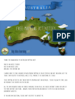 Mapping Activity Australia