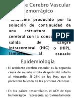 Historia Natural de La Enfermedad ACV