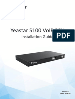 Yeastar S100 Installation Guide En