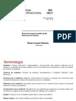 Auditorías ISO 19011-2011