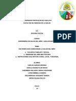 Factores Que Condicionan La Salud Del Niño (1)