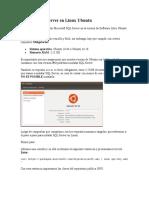 Instalar SQL Server en Linux