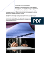 Generación Del Contrato Administrativo