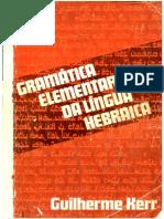 Gramatica Elementar da Língua Hebraica - Guilherme Kerr.pdf