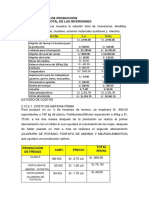 Costos de Fresifruti