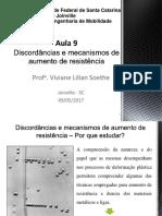 Aula 9_ Propriedades Mecanicas Dos Metais e Mecanismos de Aumento de Resistência