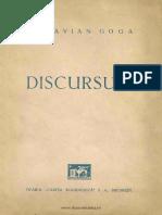 Octavian Goga - Discursuri - 1942